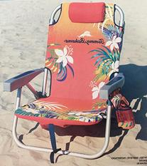 Tommy Bahama Backpack Beach Chair, Red