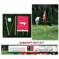 Backyard Flagstick & Cup Golf Training Aid