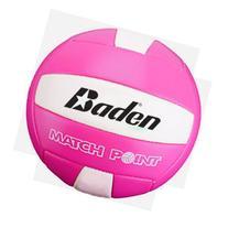 Baden MatchPoint Volleyball; Neon Pink/White