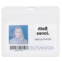 AVT75603 - Advantus PVC-Free Horizontal Badge Holder