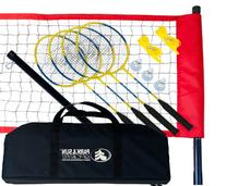 Park & Sun Sports Portable Outdoor Badminton Net System with