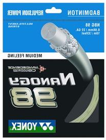 Yonex Badminton String Nanogy_98 Medium Feeling