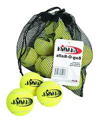 Gamma Sports Bag-O-Balls Pressureless Tennis Balls, Bag of