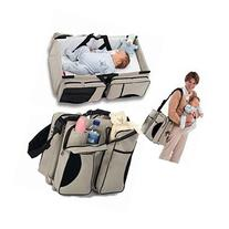 Baby Travel Bag Portable Waterproof Baby Crib Folding Bed