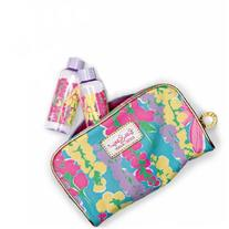 Lilly Pulitzer Makeup Bag Spring 2013 with 2 Matching