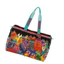 Laurel Burch Travel Bag Zipper Top 21-Inch by 8-Inch by 16-