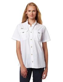 Columbia Women's Bahama Short Sleeve Fishing Shirt