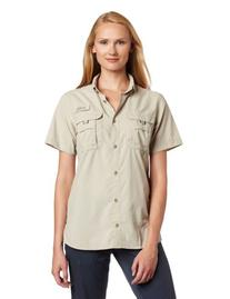 Columbia Women's Bahama Short Sleeve Fishing Shirt