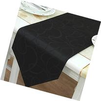 【Bailand】classic Black Geometric Table Runners