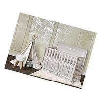 Dream On Me Bailey 5-in-1 Convertible Crib - Blush Pink