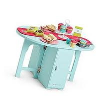 American Girl Baking Table & Treats