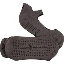 Crescent Moon Ballet ExerSock - 3 Pack Charcoal - Small  -