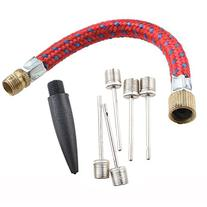 AGPtek Balls Inflator Parts Extension Hose Needle Kit for