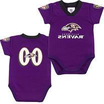 NFL Baltimore Ravens Baby Dazzle Bodysuit