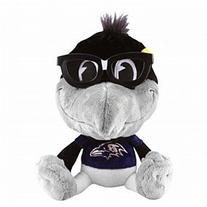 NFL Baltimore Ravens Study Buddy Mascot, Medium, Gray