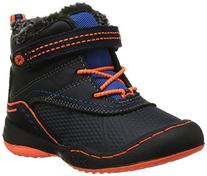 Jambu Baltoro-T Boys Waterproof Boot , Navy/Orange, 7 M US