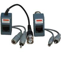 VideoSecu 1 Pair Video Balun Network Transceiver with Video