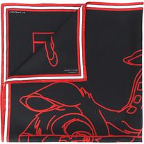 Givenchy - Bambi print scarf - women - Silk - One Size