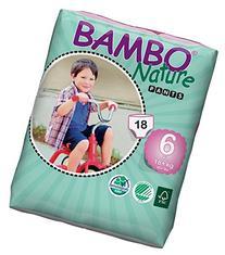 Bambo Nature Premium Baby Diapers, Training Pant, Size 6, 18