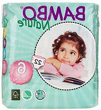 Bambo Nature Maxi Baby Diapers, Size 6 , 132