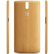 Whiteoak Oneplus One Bamboo StyleSwap Cover Case With Button