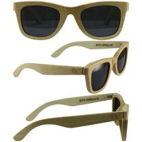 Bamboo Wayfarer, Naturally Floating Polycarbonate Lens