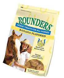 Banana Rounders Horse Treat 30 oz