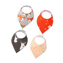 Taram Baby Bandana Drool Bib with two Adjustable Snaps