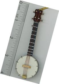 Dollhouse Miniature Banjo