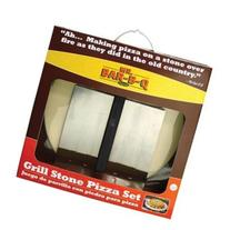 MR BAR B Q 06187X / 3 Piece Pizza Stone Kit