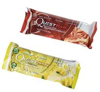 Quest Nutrition- Quest Bar Strawberry and Lemon Bundle: 6