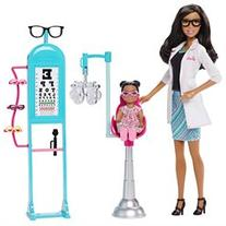 Barbie Careers Eye Doctor African-American Doll and Playset