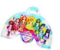 Barbie Rainbow Chelsea, 7 Pack