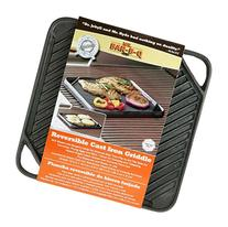 Mr.BarBQ 08102X Reversible Griddle, Cast Iron by Mr. Bar-B-Q