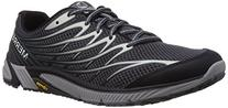 Merrell Men's Bare Access 4 Trail Running Shoe, Black/Dark