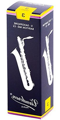 Baritone Saxophone Reeds Strength 3 Box of 5
