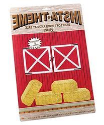 Barn Loft Door & Hay Bale Props Party Accessory