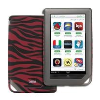 EMPIRE Barnes and Noble Nook Color Hot Pink and Black Zebra