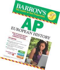 Barron's AP European History, 7th Edition