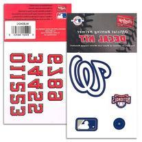 Washington Nationals MLB Batting Helmet Decal Kit (Includes