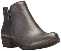 Lucky Women's Basel Boot, Pewter, 7 M US