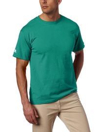 Russell Athletic Men's Basic Cotton Tee, Aqua, 4X-Large