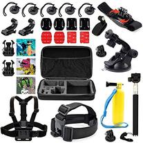GooKit® Professional Basic Accessories Bundle Kit for GoPro