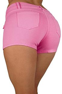 Basic Short Shorts Premium Stretch French Terry Moleton With