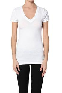 TheMogan Women's Basic Short Sleeve Tee Shirts Slim Top-