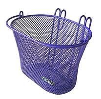 Basket with hooks PURPLE, Front, Removable, Children wire