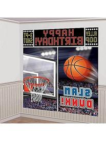 Amscan Basketball Dream Birthday Party Scene Setters Wall