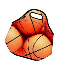 Basketball Soft Insulated Lunch box Food Bag Neoprene