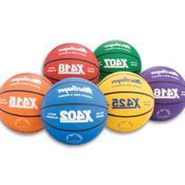 Multicolor Basketballs - Blue