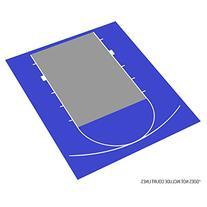 IncStores Outdoor Baskteball Court Flooring - Half Court Kit